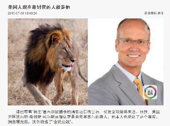 """航空公司站出来表态;动物星球频道宣布""""世界狮子日"""""""